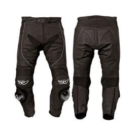 Kožené moto nohavice Berik LP-10642-BK, čierne
