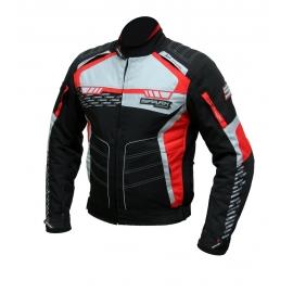 Pánska textilná moto bunda Spark Mizzen Red