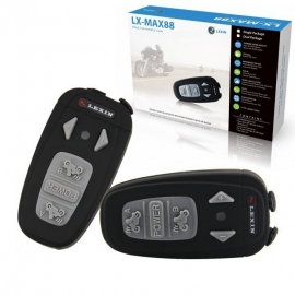 Interkom Lexin MAX88 dual kit - černá