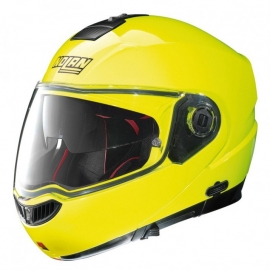Moto helma Nolan N104 Absolute Hi-Visibility N-Com Fluo Yellow 22