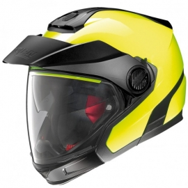 Moto helma Nolan N40-5 GT Hi-Visibility N-Com Fluo Yellow 22
