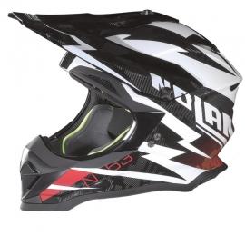 Moto helma Nolan N53 Comp Metal White 11