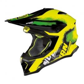 Moto helma Nolan N53 Lazy Boy Led Yellow 23
