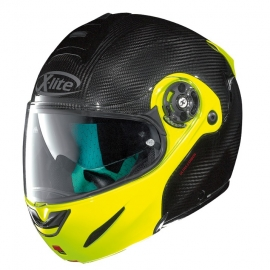 Moto helma X-Lite X-1003 Ultra Carbon Dyad Fluo Yellow 3