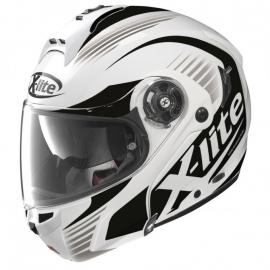 Moto helma X-Lite X-1004 Nordhelle N-Com Metal White 13