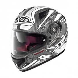 Moto helma X-Lite X-661 Extreme TitanTech Honeycomb N-Com Titanium 8