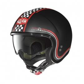 Moto helma Nolan N21 Lario Flat Black 2 - L