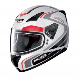 Moto helma Nolan N60-5 Practice Metal White 19 - S