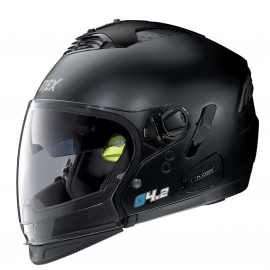 Moto helma Grex G4.2 PRO Kinetic N-Com Flat Black 2 - S