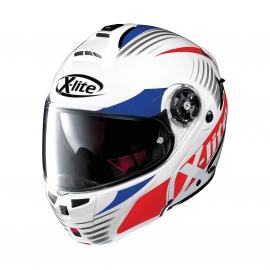 Moto helma X-Lite X-1004 Nordhelle N-Com Meta White 19 - L