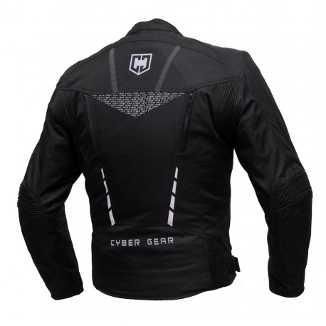 Pánská textilní bunda Cyber Gear Strada černá - S