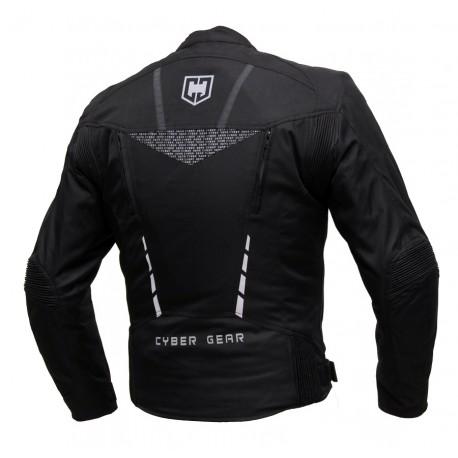 Pánská textilní bunda Cyber Gear Strada černá - 5XL
