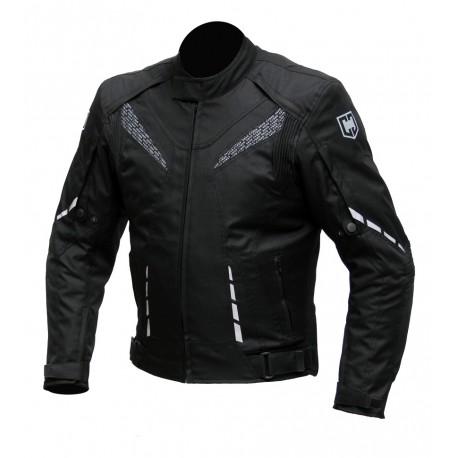 Pánská textilní bunda Cyber Gear Strada černá - M