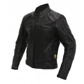 Pánska kožená moto bunda Spark Brono, Black