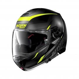 Moto helma Nolan N100-5 Lumiére N-Com Flat Black 37