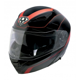 Moto helma Yohe 950-16 Black, Red