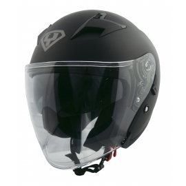 Moto helma Yohe 878-1, Matte Black