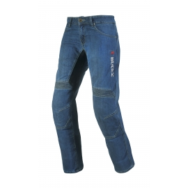 Pánske textilné moto jeansy Spark Danken, modré