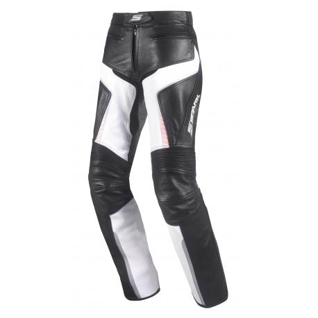 Dámské kožené moto kalhoty Spark Lina Pink - 2XS