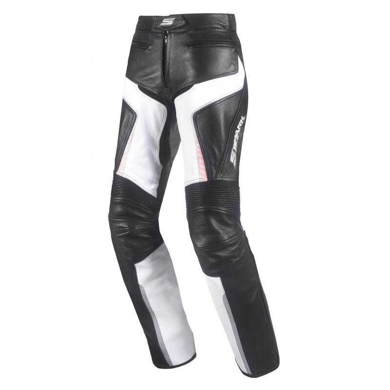 5e29360846c3 Dámské kožené moto kalhoty Spark Lina Pink - 2XS ...