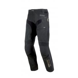 Pánske kožené moto nohavice Spark Mike, čierne