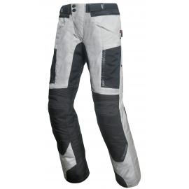 Pánske textilné moto nohavice Spark Nautic, biele