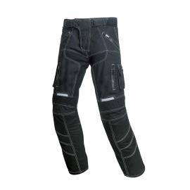 Pánske textilné moto nohavice Spark Pero, čierne