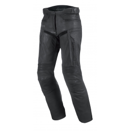 Dámské kožené moto kalhoty Spark Virginia černé - L