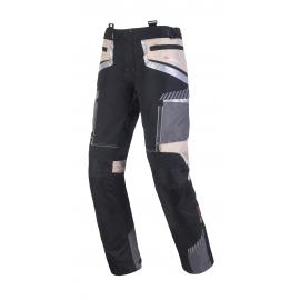 Pánske textilné moto nohavice Spark Roadrunner, Sand