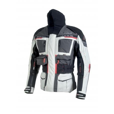 Pánská textilní moto bunda Spark Avenger Grey - M