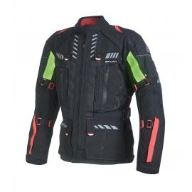 Pánska textilná moto bunda Spark Expedition Black