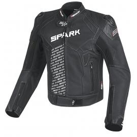 Pánska kožená moto bunda Spark ProComp Black