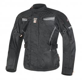 Pánska textilná moto bunda Spark Tonga Black