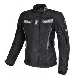 Dámska textilná moto bunda Spark Trinity Black