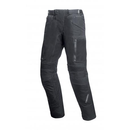 Pánske textilné moto nohavice Spark Nautic, čierne