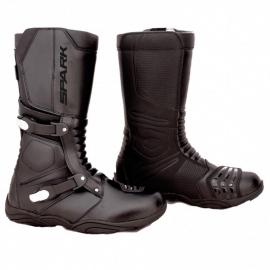 Pánske cestovné moto topánky Spark Raiden, čierne