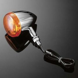 Moto blinkry Highway Hawk TECH GLIDE grooved 60mm, E-mark, chrom (1ks)