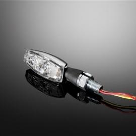 Highway Hawk Kryty blinkrů pro motocykly HONDA, VT+VF modely s obdelníkovými blinkry (4ks)
