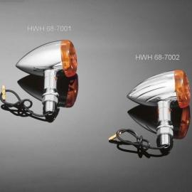 Moto blinkry Highway Hawk TECH GLIDE smooth, E-mark, chrom (2ks)