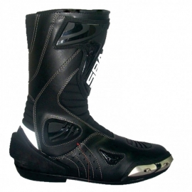 Pánske cestovné moto topánky Spark Sepang, čierne