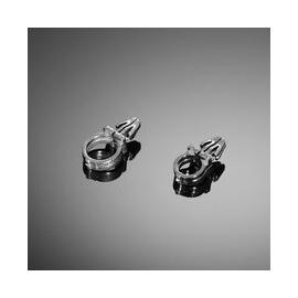 Držák kabelů Highway Hawk, průměr 10mm, chrom (1ks)
