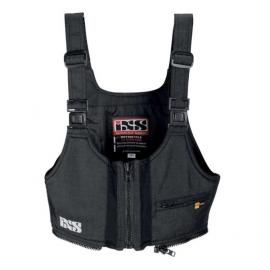 Horní díl pro dámské motocyklové kalhoty iXS TEX-ZIP II vel.L, černý (textil)