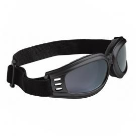 Motocyklové brýle Held, zrcadlové, černý rám (skládací)