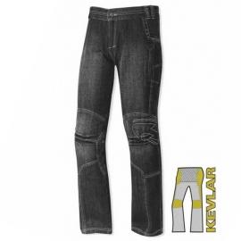 Skútr jeans kalhoty Held RACTOR vel.28 (délka 32), černé, kevlar