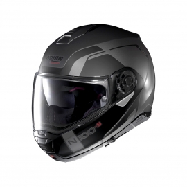 Moto helma Nolan N100-5 Consistency N-Com Flat Lava Grey 20