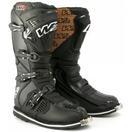 Krosový pánske moto topánky W2 E-MX6, čierne