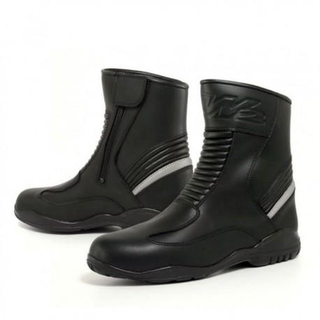 Cestovné pánske moto topánky W2 Tour Lite, čierne