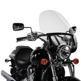 A 35N Plexi GIVI čiré, dole tmavé pro motocykly, univerzální