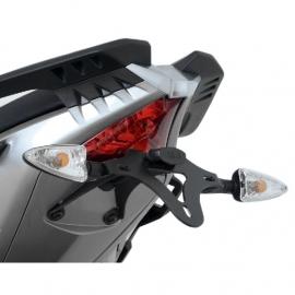Držák SPZ RG Racing pro motocykly APRILIA Caponord 1200, černý