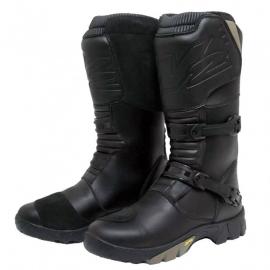 Cestovné pánske moto topánky W2 Touring Adventure, čierne